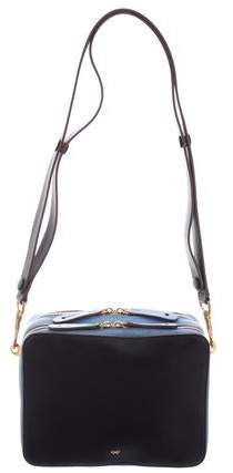 Anya Hindmarch Colorblock Leather Crossbody Bag