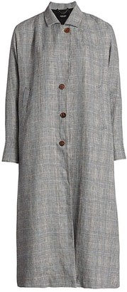 Rachel Comey Wander Linen Trench Coat