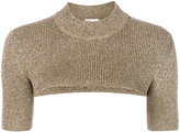 RED Valentino bicolour knit T-shirt