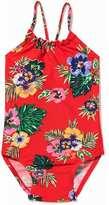Old Navy Floral Halter Swimsuit for Toddler Girls