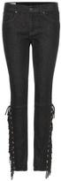 Polo Ralph Lauren Tompkins Fringed Skinny Jeans