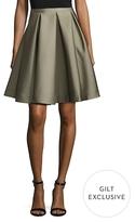 Keepsake Free Falling Pleated A Line Skirt