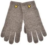 Lyle & Scott Racked Rib Gloves Grey