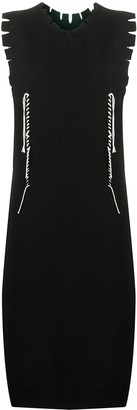 Maison Margiela Twisted Thread Detail Dress