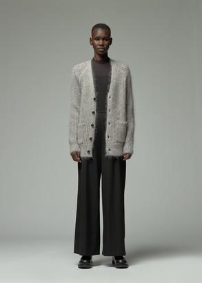 Totokaelo Archive Women's Davie Mohair Cardigan Sweater in Cygnet Size XS Mohair/Wool