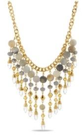 Catherine Malandrino Women's Chandelier Style Beaded Chain Necklace