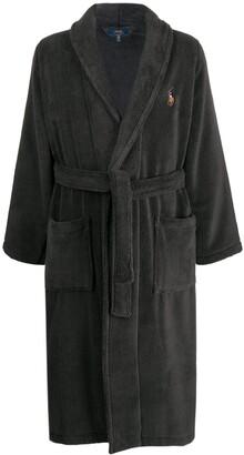 Polo Ralph Lauren embroidered logo robe