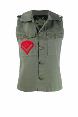 Mr & Mrs Italy Slate Green Waistcoat