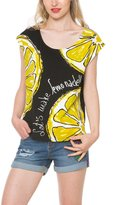 Desigual Women's Knitted T-Shirt Sleeveless 117