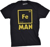 Crazy Dog T-shirts Crazy Dog Tshirts Mens Iron Man Science T shirt Cool Shirts Novelty Mens Funny T shirt Graphic Design