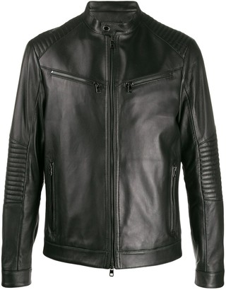 Michael Kors Fitted Zipped Jacket