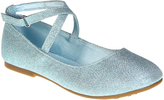 Jelly Beans Blue Macy Ankle-Strap Flat