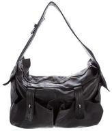 Yohji Yamamoto Smooth Leather Shoulder Bag