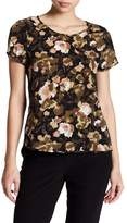 French Connection Eso Contrast Back Floral Blouse