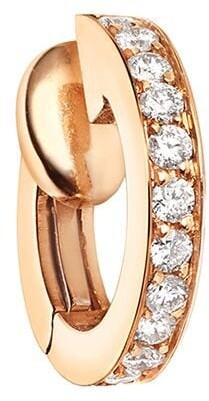 Repossi 18kt rose gold Berbere Monotype diamond earcuff