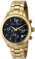 Lucien Piccard Women's LP-12914-YG-11 Coimbra Stainless Steel Watch with Link Bracelet