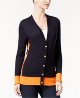 MICHAEL Michael Kors Colorblocked Cardigan