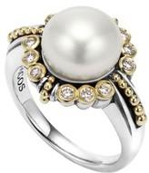 Lagos Women's Luna Diamond & Pearl Ring