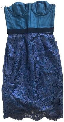 Matthew Williamson Blue Lace Dresses