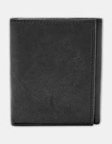 Fossil Ingram Black Trifold Wallet