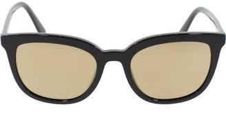 Prada Square Mirrored Lens Sunglasses