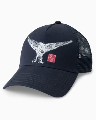 Southern Tide Gyotaku Print Trucker Hat