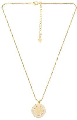 Joy Dravecky Jewelry The Blanc Circle Pendant Necklace
