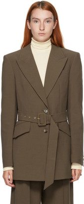 Nanushka Brown Honor Blazer
