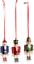 Villeroy & Boch Nostalgic Nutcracker 3-Pc. Ornament Set