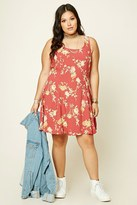 Forever 21 Plus Size Floral Print Dress