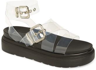 Topshop Prime Platform Ankle Strap Sandal