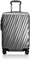 Tumi 19 Degree Polycarbonate International Carry-On in Silver