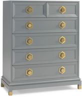 Jonathan Adler Crafted by Fisher Price 6-Drawer Chest in Grey