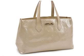Louis Vuitton Wilshire Beige Patent leather Handbags