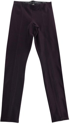 KENDALL + KYLIE Purple Trousers for Women