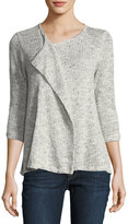 Bobeau Ginger Open-Front Cardigan