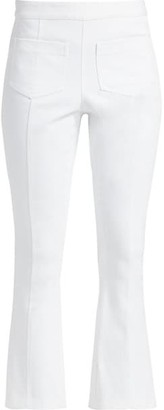 Cinq à Sept Lindsay Cropped Flare Denim Pants