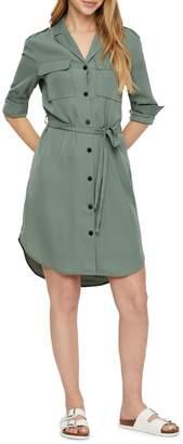 Vero Moda Selina Notch-Collar Shirtdress