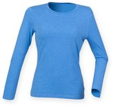 Skinni Fit Womens/Ladies Feel Good Stretch Long Sleeve T-Shirt (S)