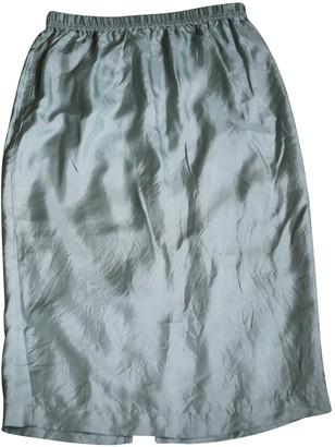 Asos Green Silk Skirt for Women
