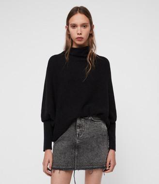 AllSaints Ridley Cashmere Blend Sweater