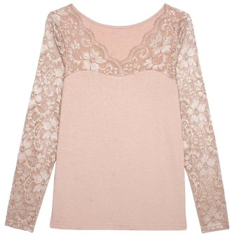 Pink Label Domonique Long Sleeve Top