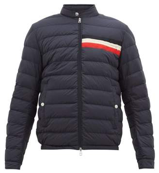 Moncler Down-quilted Shell Jacket - Mens - Navy