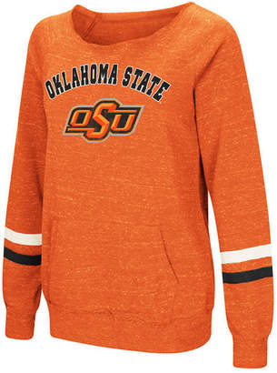 Colosseum Women Oklahoma State Cowboys Off the Shoulder Fleece Sweatshirt