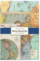 Cavallini & Co. 12-Pack Petite Vintage Maps Parcel Set