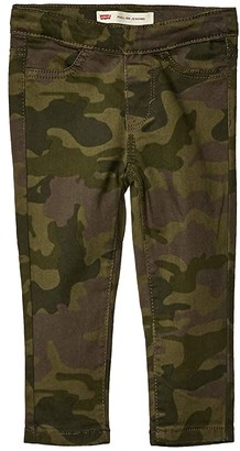 Levi's Kids Kids Pull-On Leggings (Toddler) (Kalamata Camo) Girl's Casual Pants