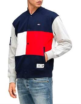 Tommy Jeans Tj Us Colorblock Baseball Jacket