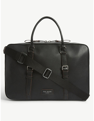 Ted Baker Waine grained leather holdall