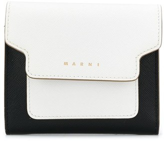 Marni Colour-Block Trifold Wallet