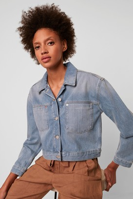 French Connenction Palmira Cropped Denim Jacket